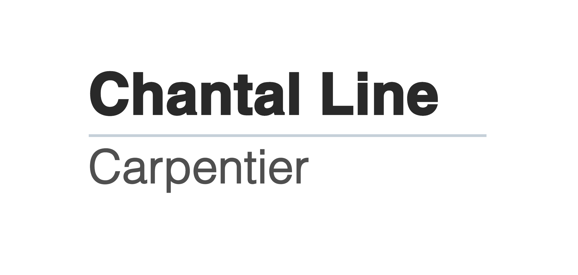 Chantal Line Carpentier
